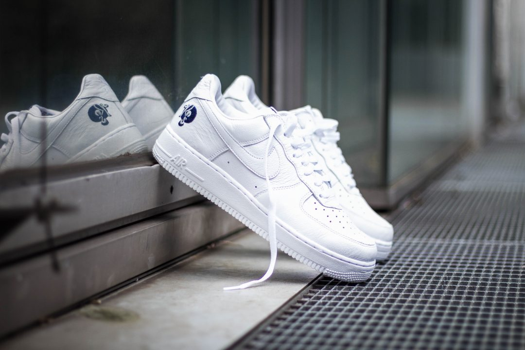 "Weißer Nike Air Force 1 x Kareem ""Biggs"" Burke ""Roc-A-Fella Records"" Werbefotograf Hildesheim Hannover"
