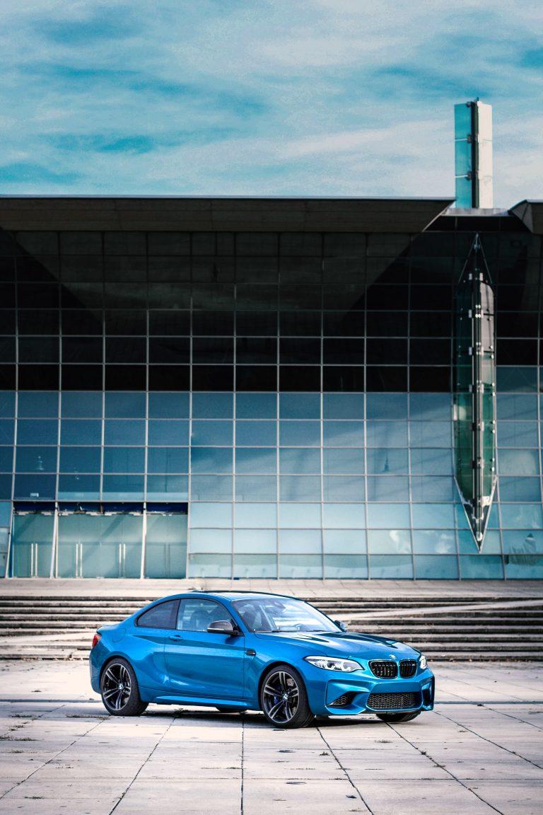 blauer BMW M2 Automotive Fotograf Hildesheim Hannover