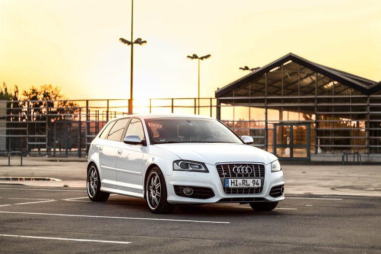 weißer Audi S3 Automotive Fotograf Hannover