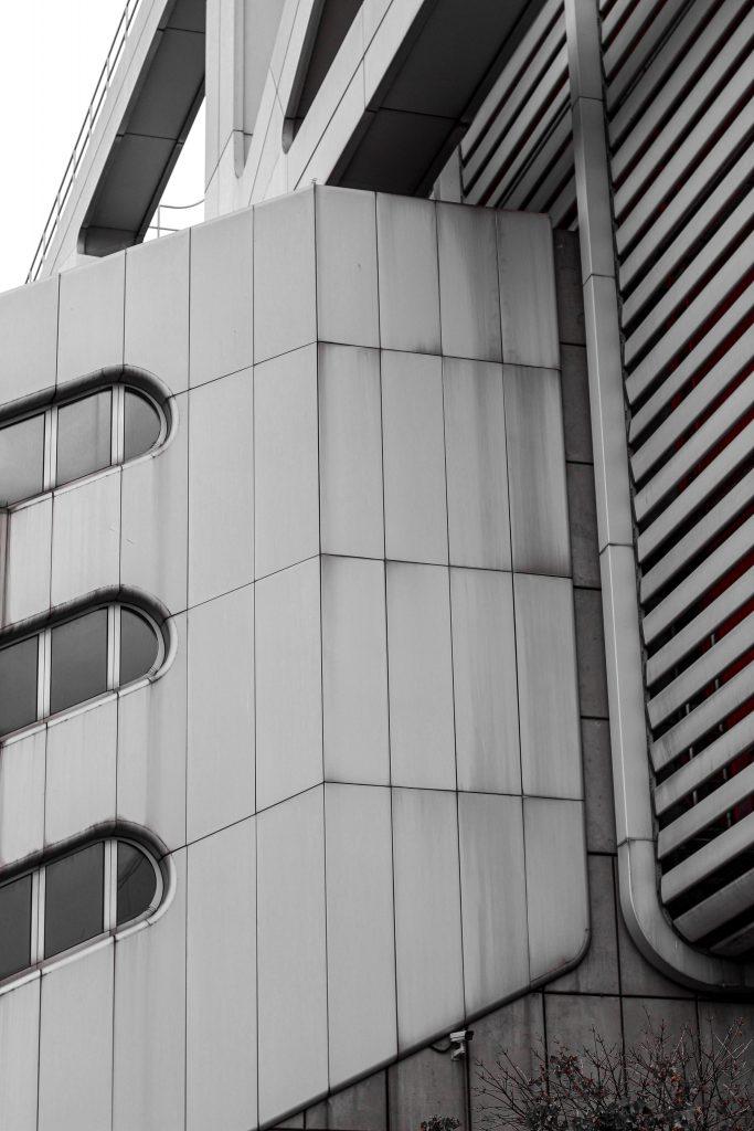 Berlins monochrome Architektur