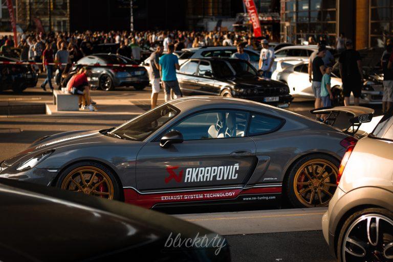 Akrapovic Porsche Cayman GT4 Automotive Fotograf Hannover