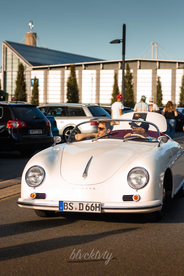 weißer Porsche 356 Speedster Automotive Fotograf Hannover